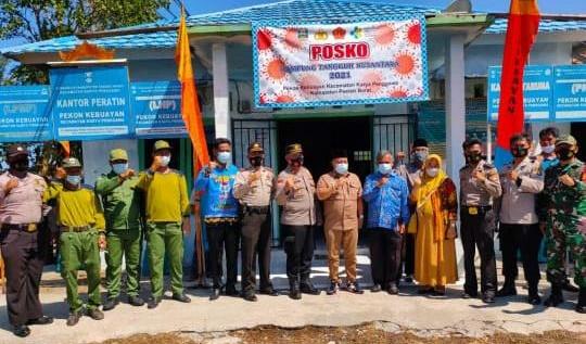 Polres Lampung Barat, Launching Kampung Tangguh Nusantara